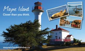 Mayne Island. Closer than you think.